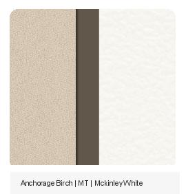 Office Color Palette : Anchorage Birch | MT | MckinleyWhite